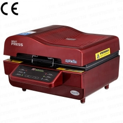 220V 3D Sublimation Vacuum Heat Press Machine for Phonecases Mugs Plates