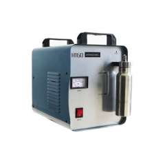 220V H160 Portable Oxygen Hydrogen Flame acrylic Polishing Machine 75L