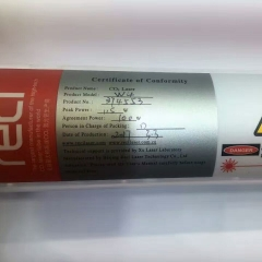 RECI W4 100W CO2 Laser Tube Length 1400mm Dia. 80mm for CO2 Laser Engraving Cutting Machine S4 Z4